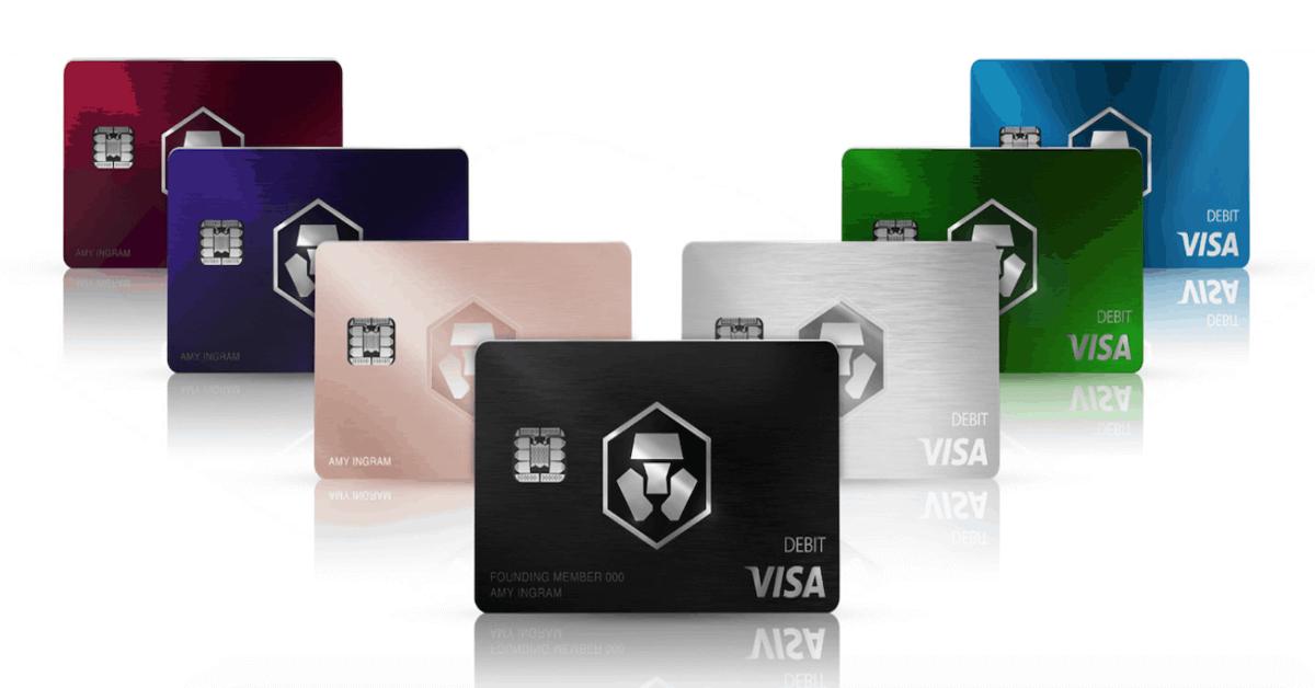 Quali sono le Crypto.com Cards (Carte di Debito) e quali sono i loro vantaggi