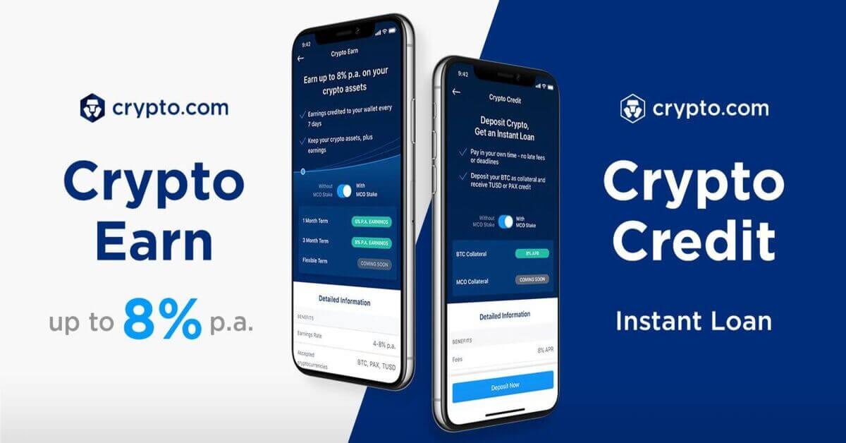 Come guadagnare interessi con Crypto.com