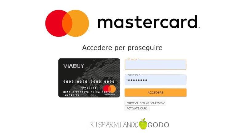 controllare addebito mastercard